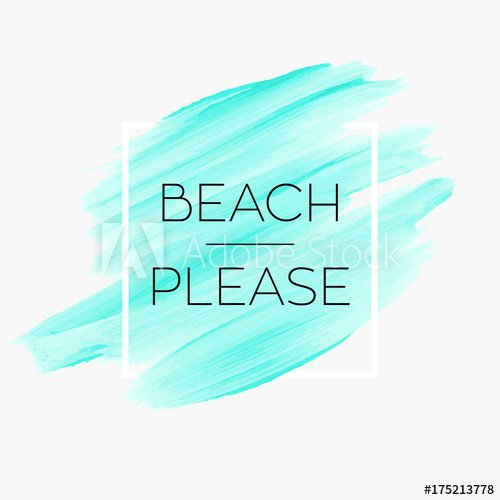 Beach vibes text sign over beautiful creative acrylic painted background vector illustration. - Buy this stock vector and explore similar vectors at Adobe Stock | Adobe Stock