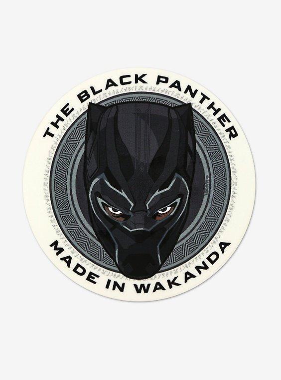 Marvel Black Panther Decal