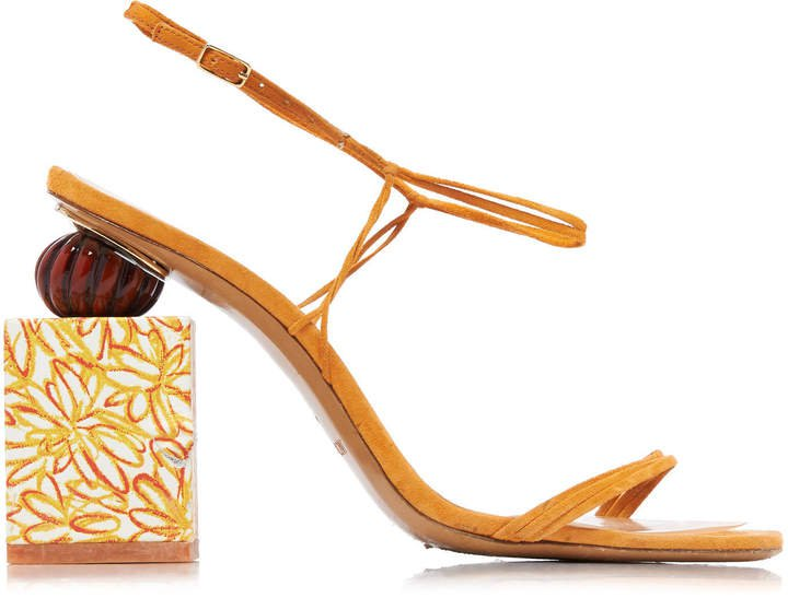 Tatanes Leather Platform Sandals