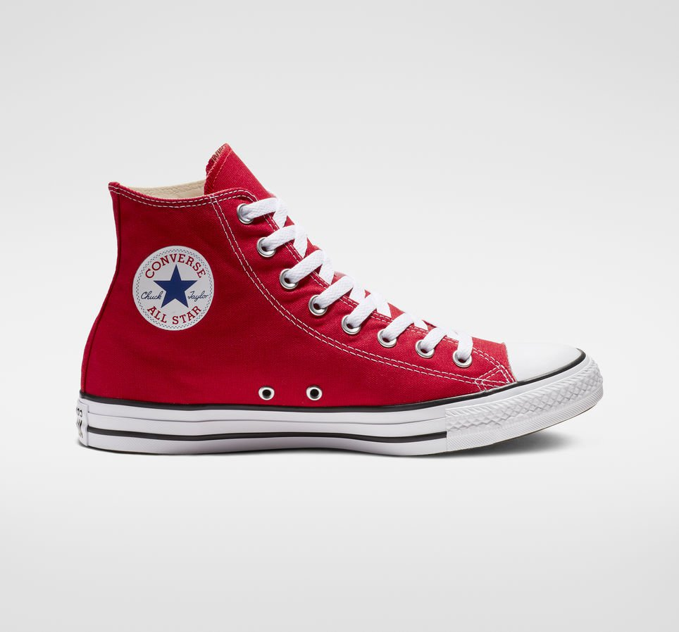 Chuck Taylor All Star Red High Top Shoe