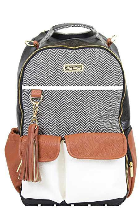 Amazon.com : Itzy Ritzy Boss Backpack Diaper Bag Backpack in Coffee and Cream : Baby