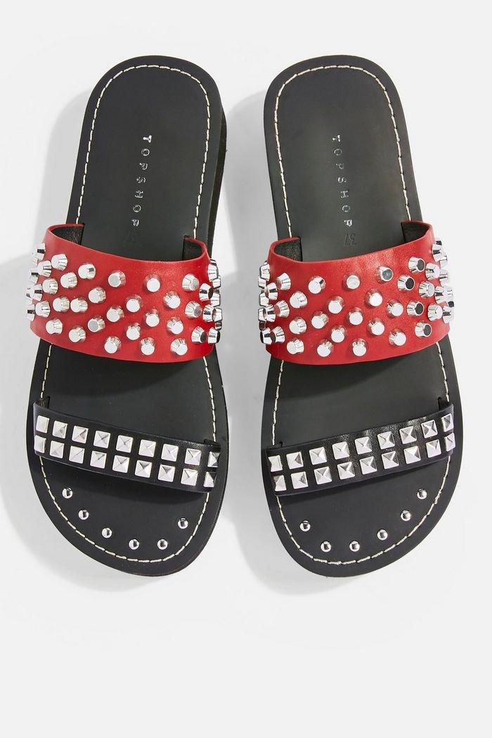 FIERCE Flat Sandals | Topshop
