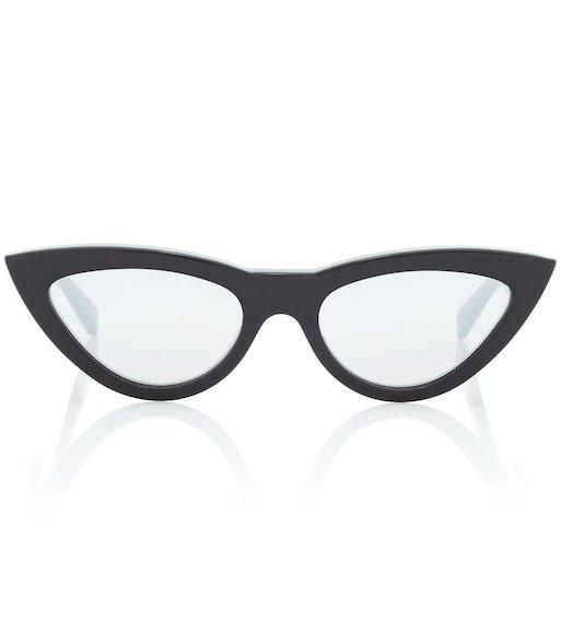 Cat-Eye Acetate Sunglasses - Céline Eyewear | mytheresa