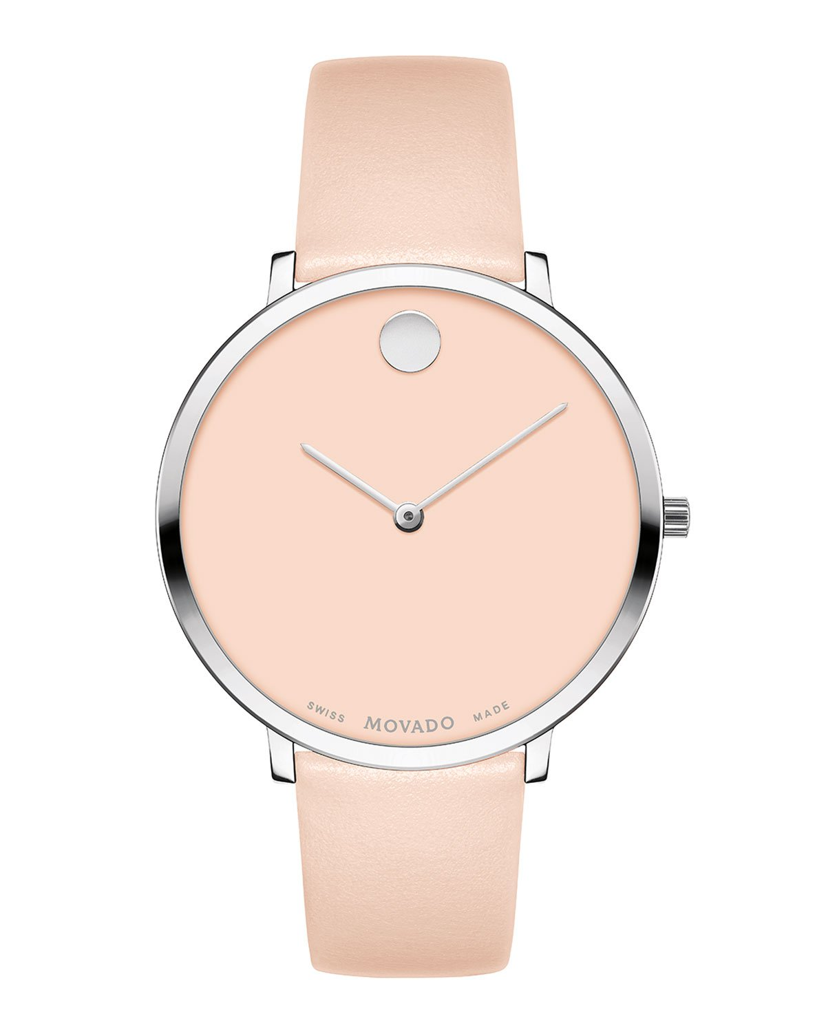 Movado Ultra Slim Leather Watch