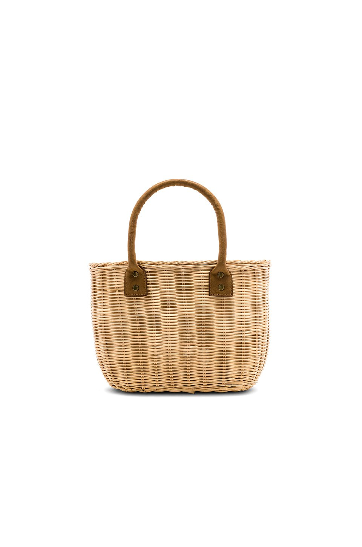 Wicker Small Basket Bag