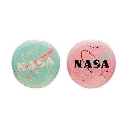 pastel nasa badges