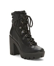 Vince Camuto Ermania Booties & Reviews - Boots - Shoes - Macy's black