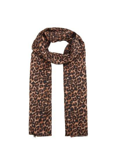 Violeta BY MANGO Leopard scarf
