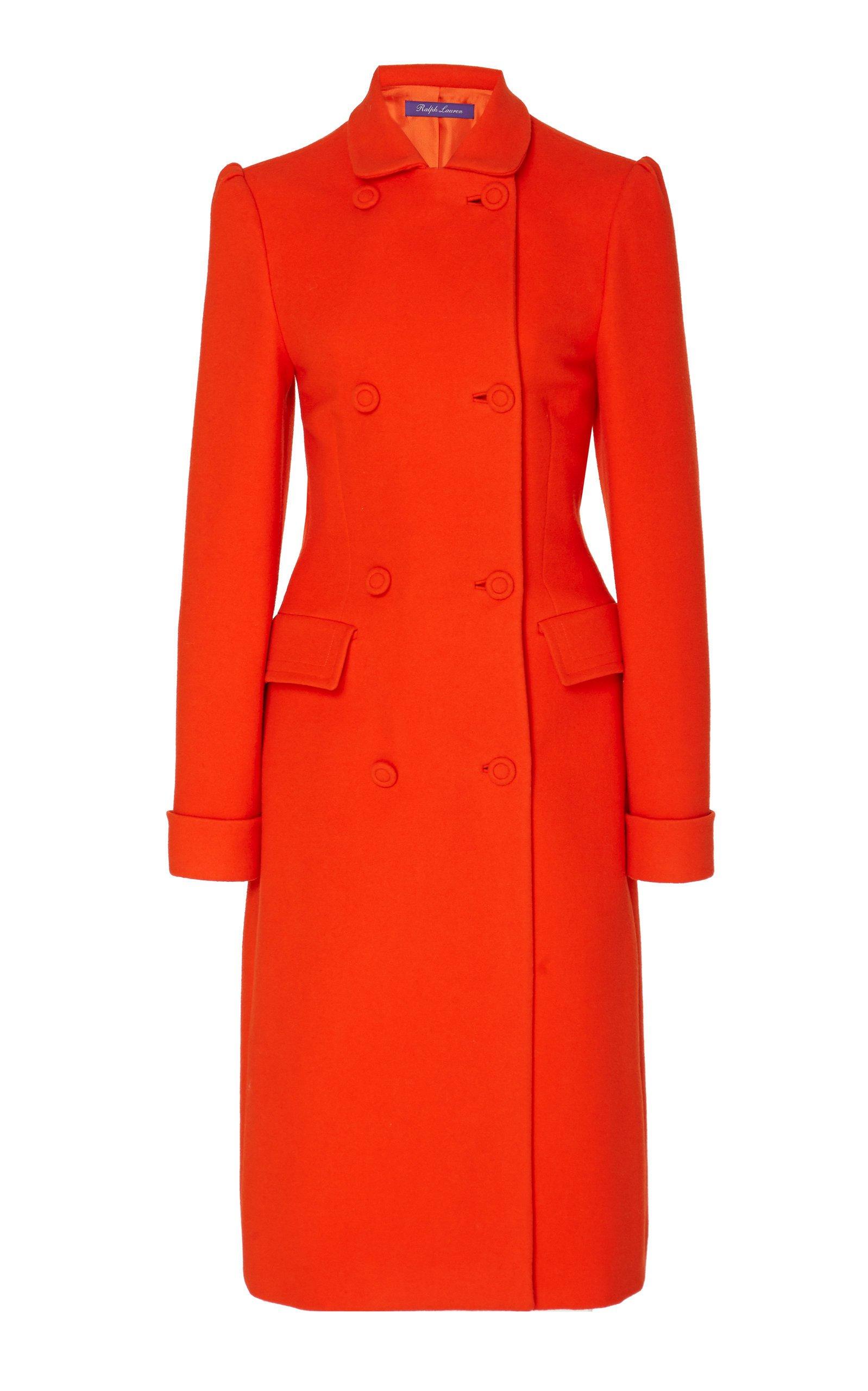 Ralph Lauren Kamilla Wool Trench Coat