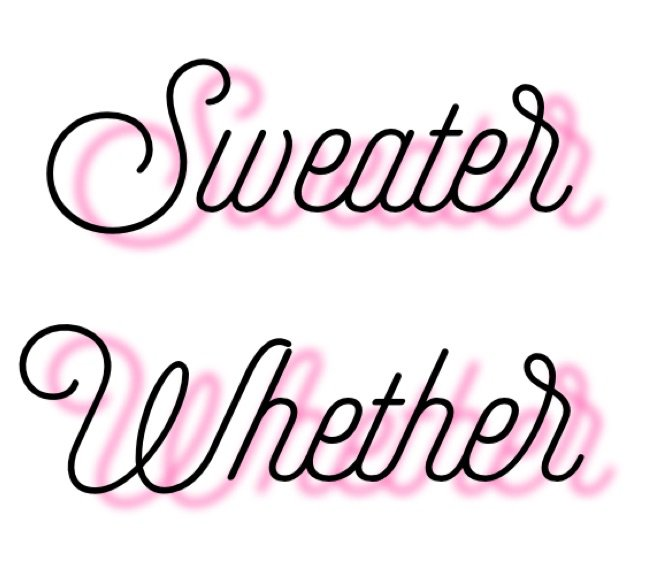 sweater whether
