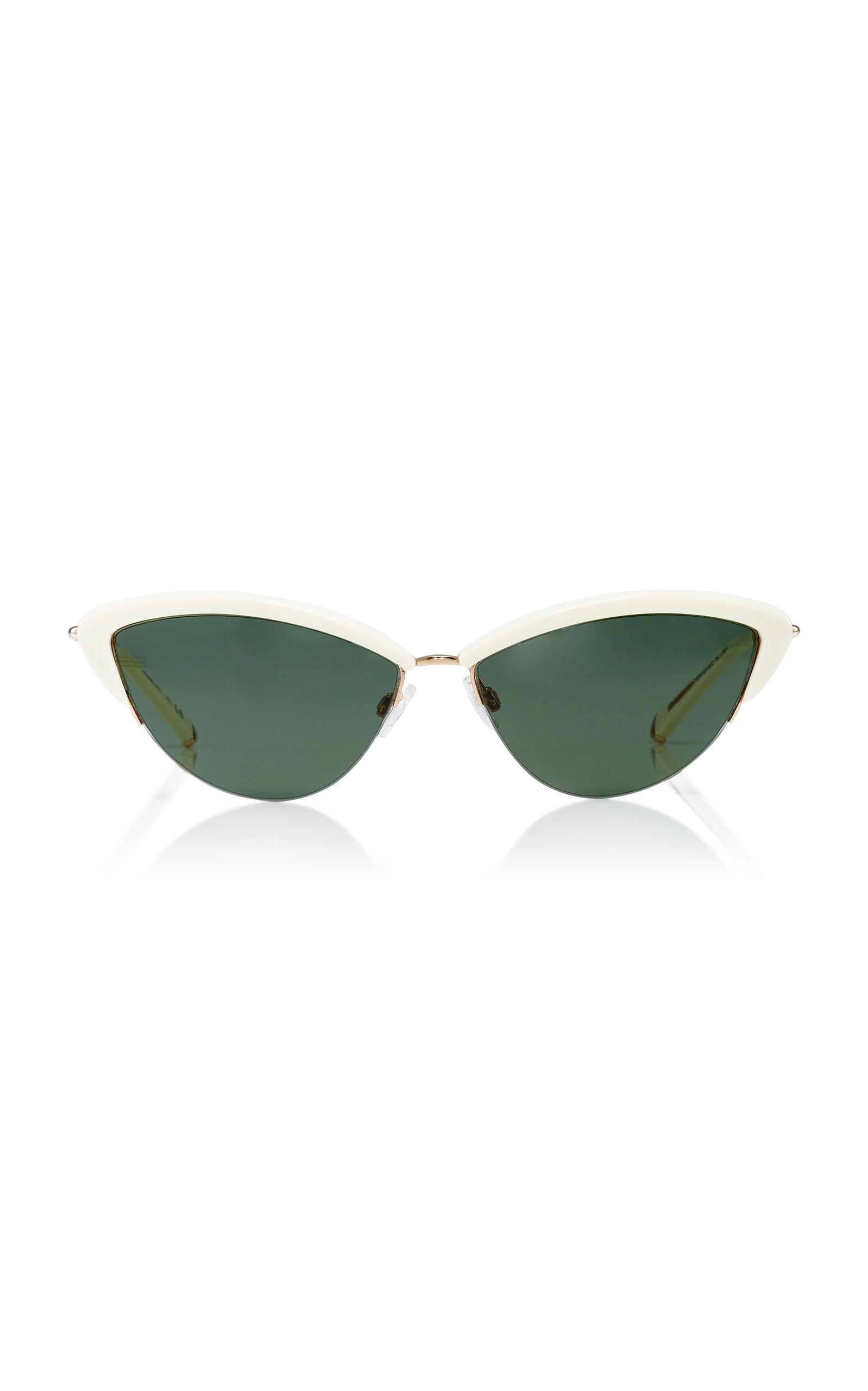 Kate Young Ally Cat-Eye Sunglasses