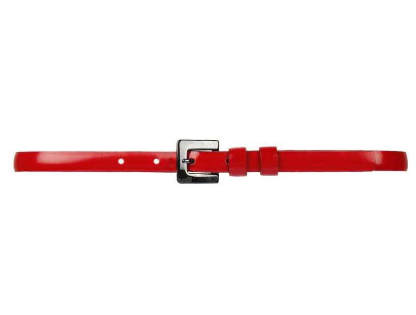 Skinny Red Belt