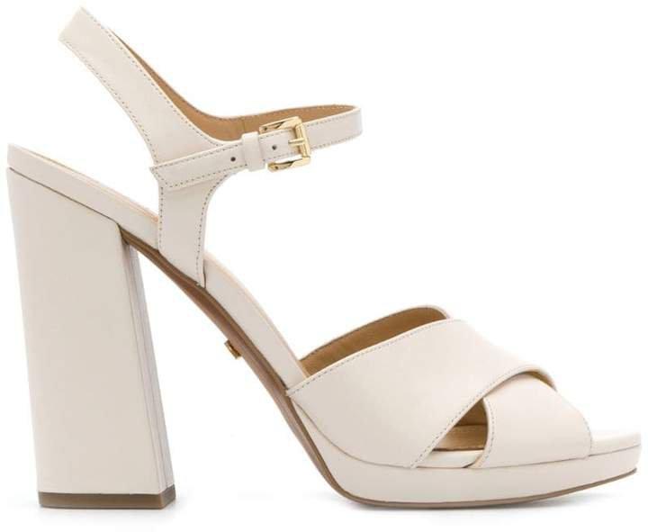 Alexia block-heel sandals