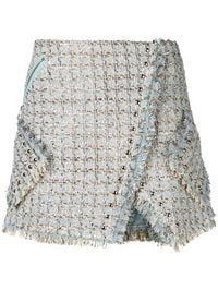 Faith Connexion Tweed Wrap Skirt - Farfetch