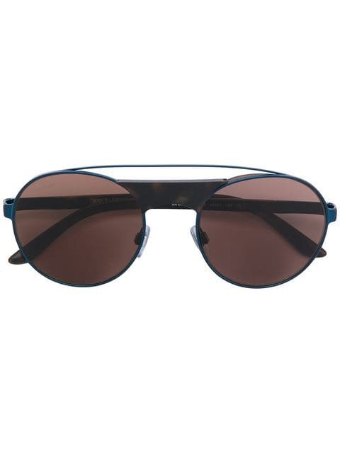 Giorgio Armani aviator round sunglasses