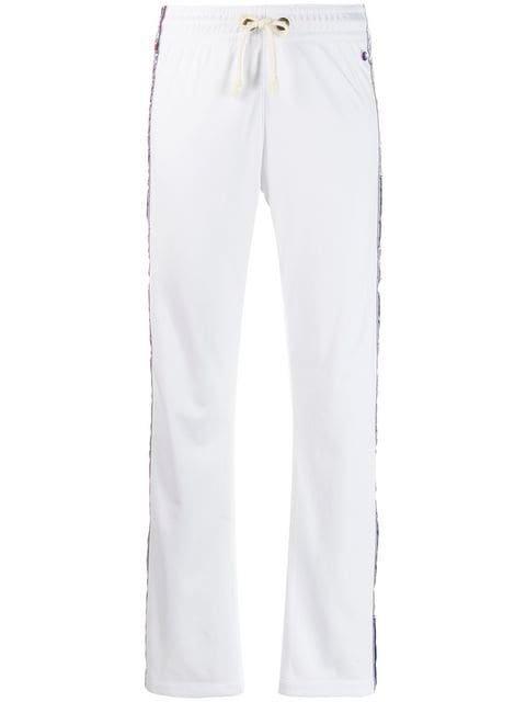 Champion Logo Stripe Track Pants - Farfetch