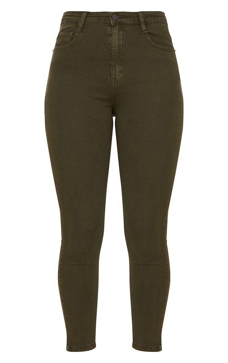5 Pocket Khaki Skinny Jean | PrettyLittleThing USA