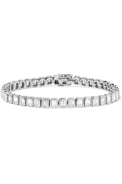 Anita Ko   18-karat white gold diamond bracelet   NET-A-PORTER.COM