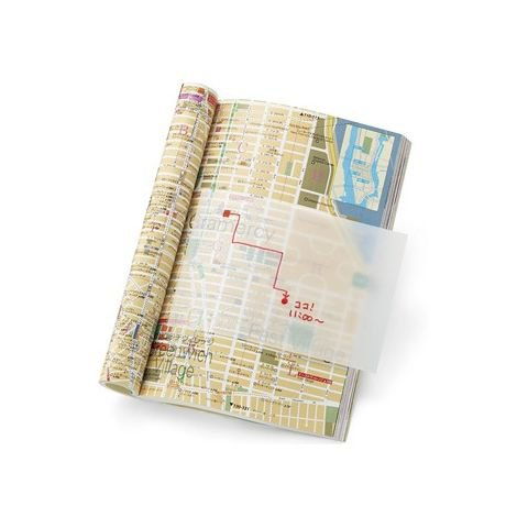 map, book