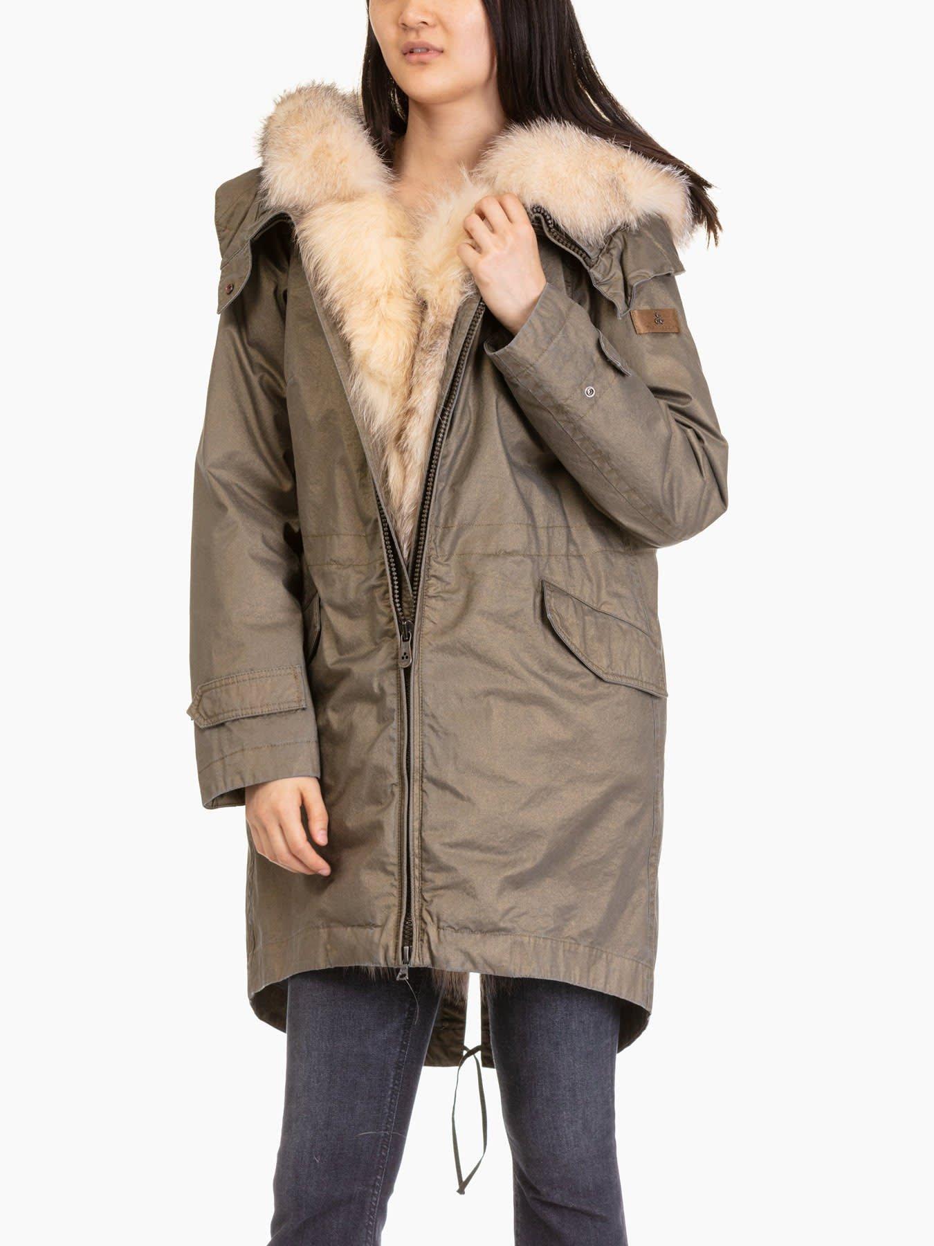 Peuterey Uzumati Mrl 01 Fur Parka
