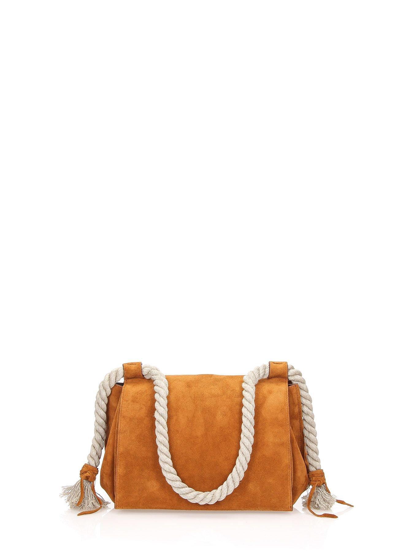 Elena Ghisellini Shoulder Bag Foxy M Suede