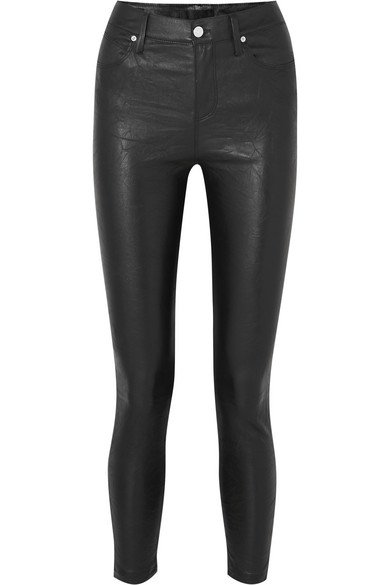 RtA | Madrid cropped stretch-leather skinny pants | NET-A-PORTER.COM