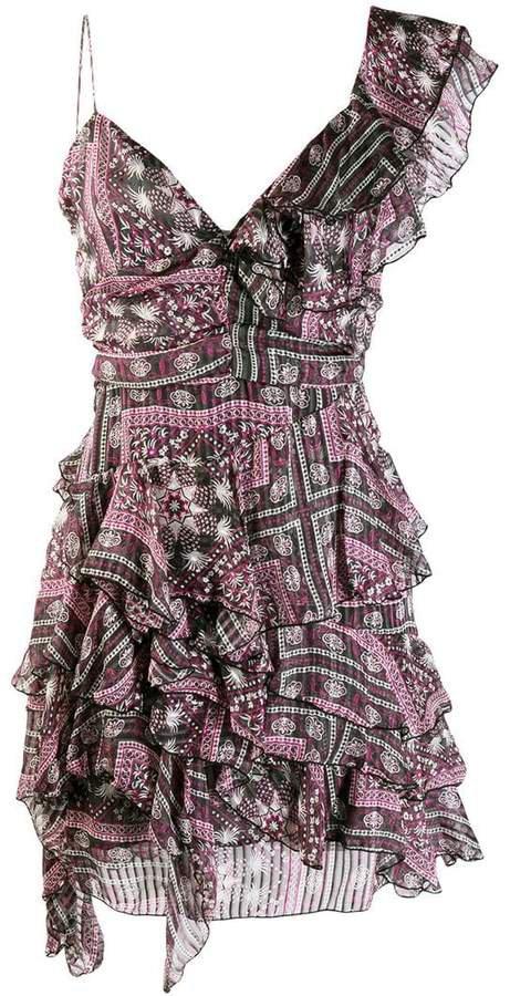 enta ruffle dress