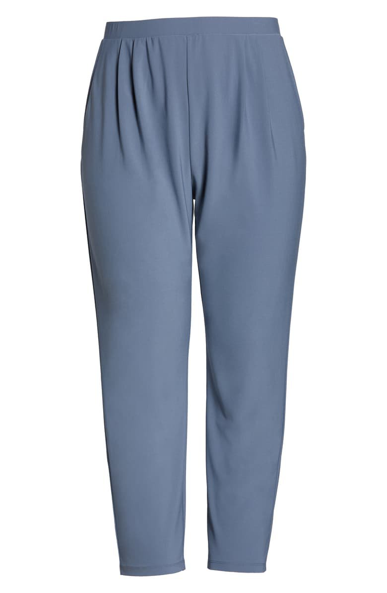 Leith High Rise Pleated Pants (Plus Size) | Nordstrom