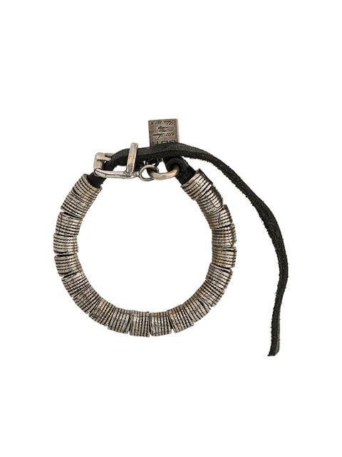 Goti adjustable embossed bracelet