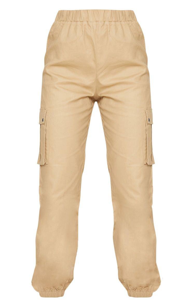 Khaki Pocket Detail Cargo Pants | Pants | PrettyLittleThing USA