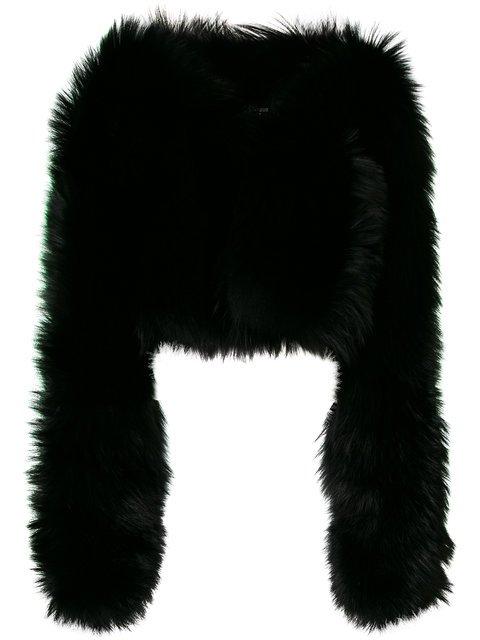 Dsquared2 Fox Fur Jacket - Farfetch
