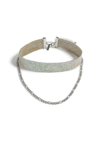 Metallic Chokers Jewelry   Bags & Accessories   Topshop