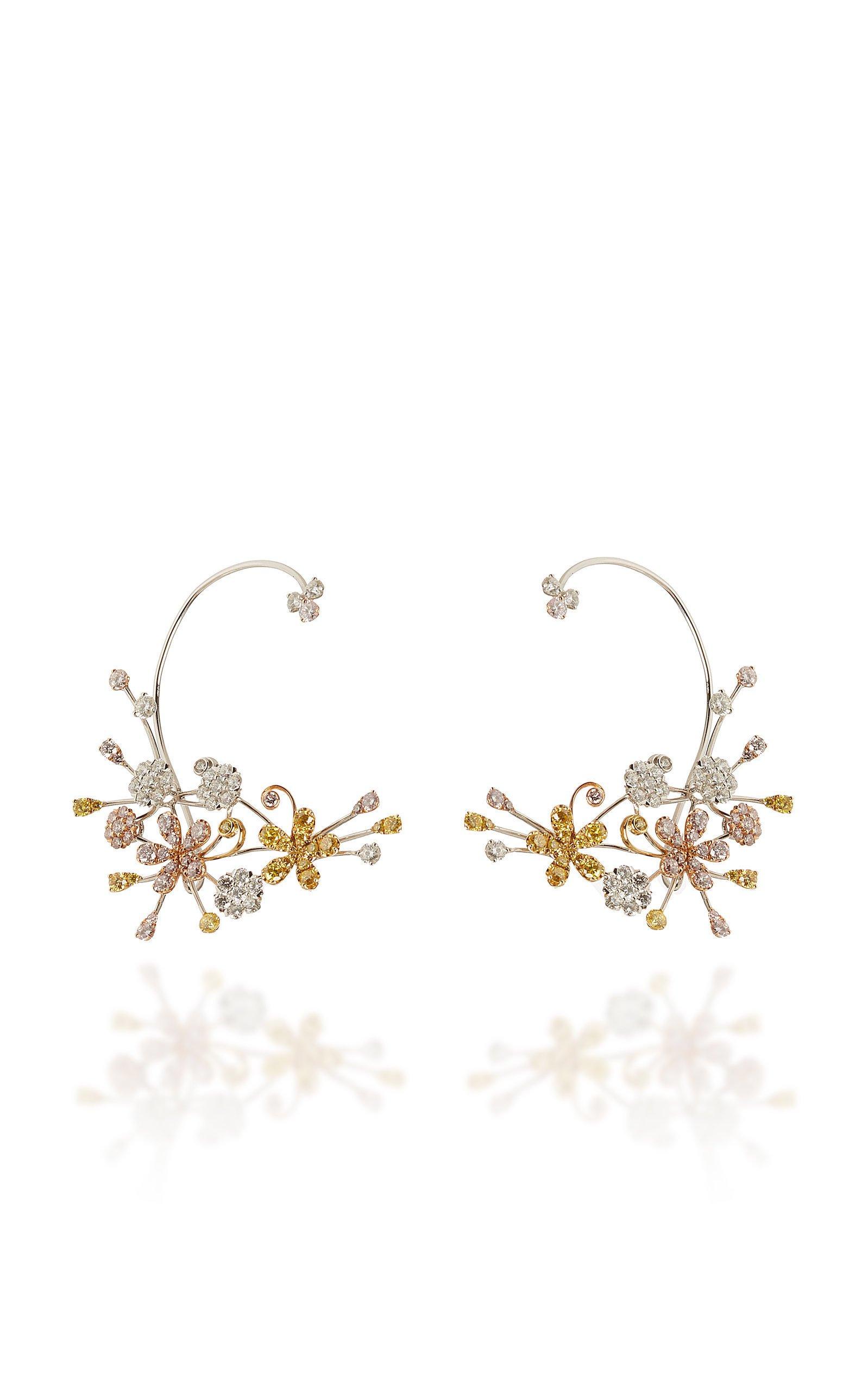 David Morris Cherry Blossom Earrings