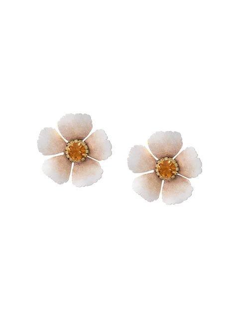 Jennifer Behr Flower stud earrings