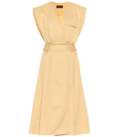 Logan cotton midi dress