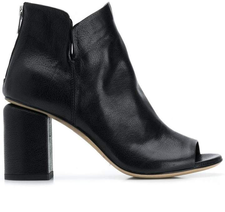 Denise open-toe boots
