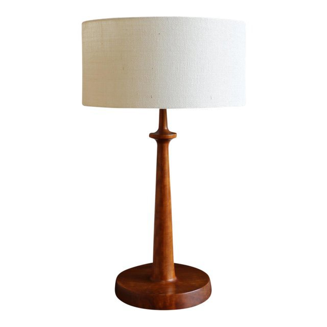 1970s Handcrafted Table Lamp | Chairish