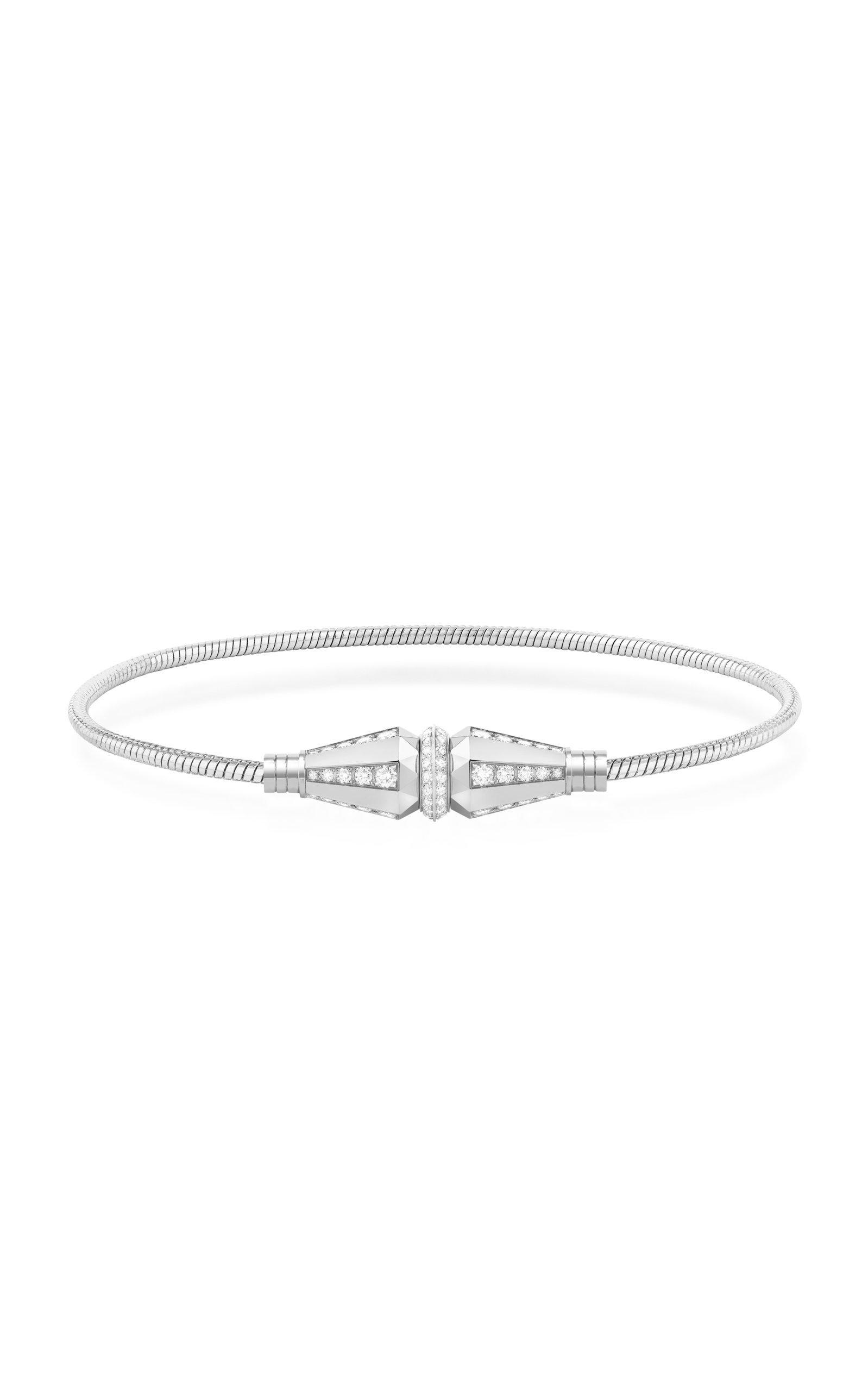 Jack de Boucheron Single Wrap Bracelet with Diamonds by Boucheron | Moda Operandi