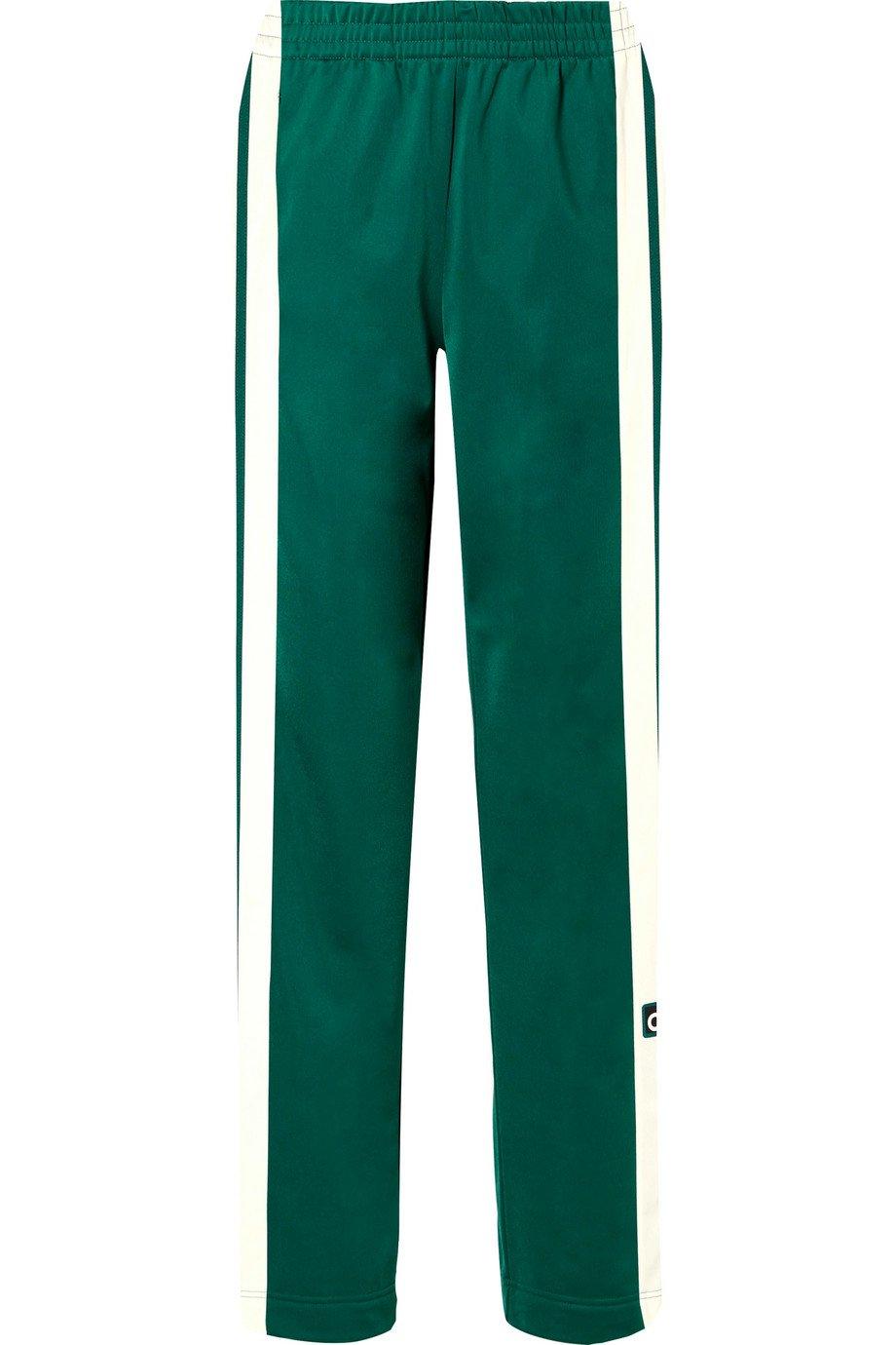 adidas Originals   Adibreak striped satin-jersey track pants   NET-A-PORTER.COM