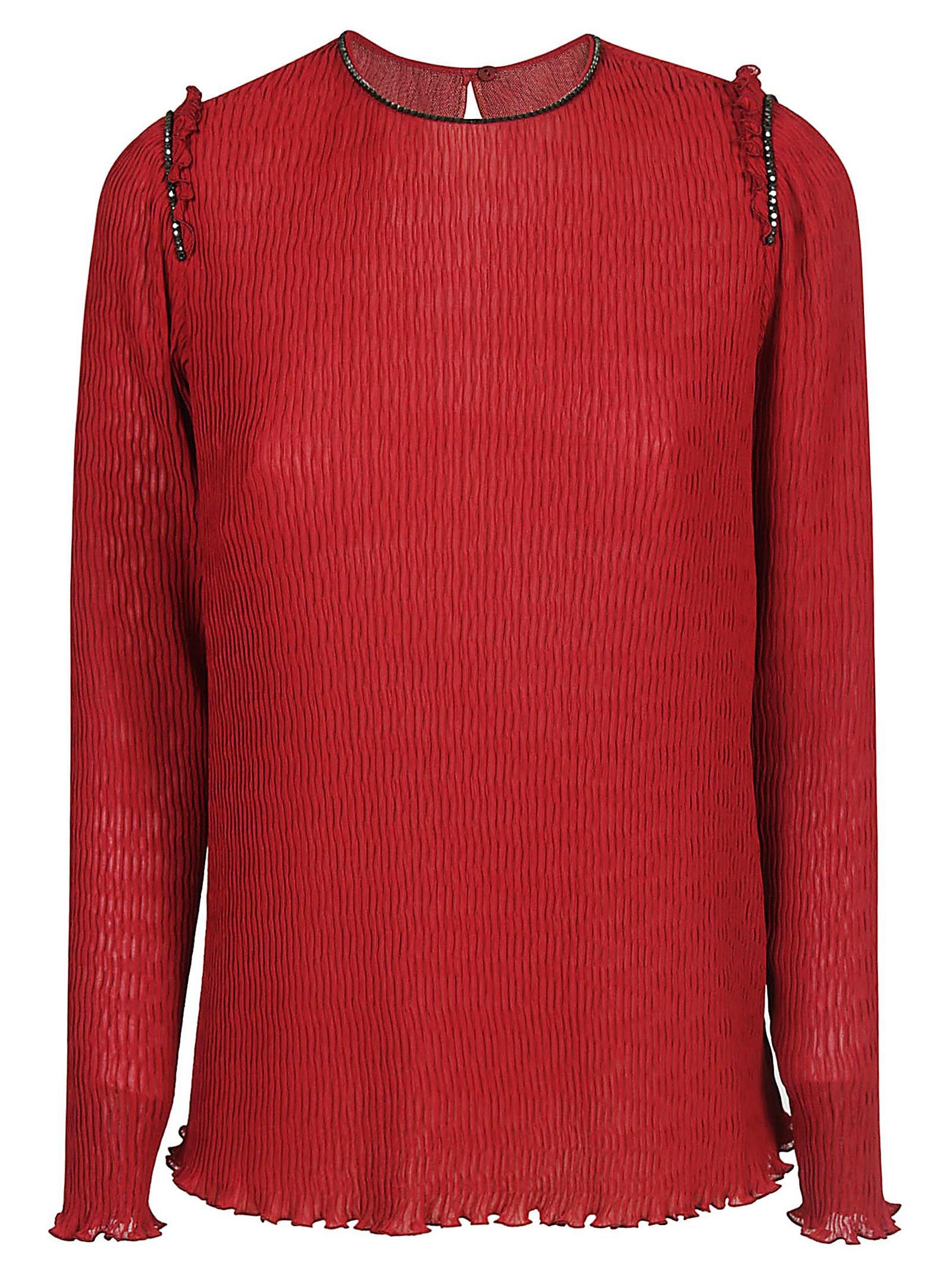 Max Mara Ruffled Sweater