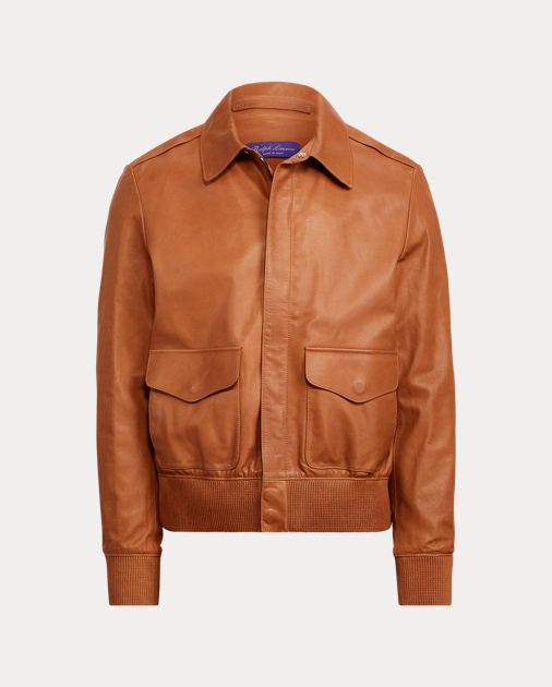 Calfskin Flight Jacket