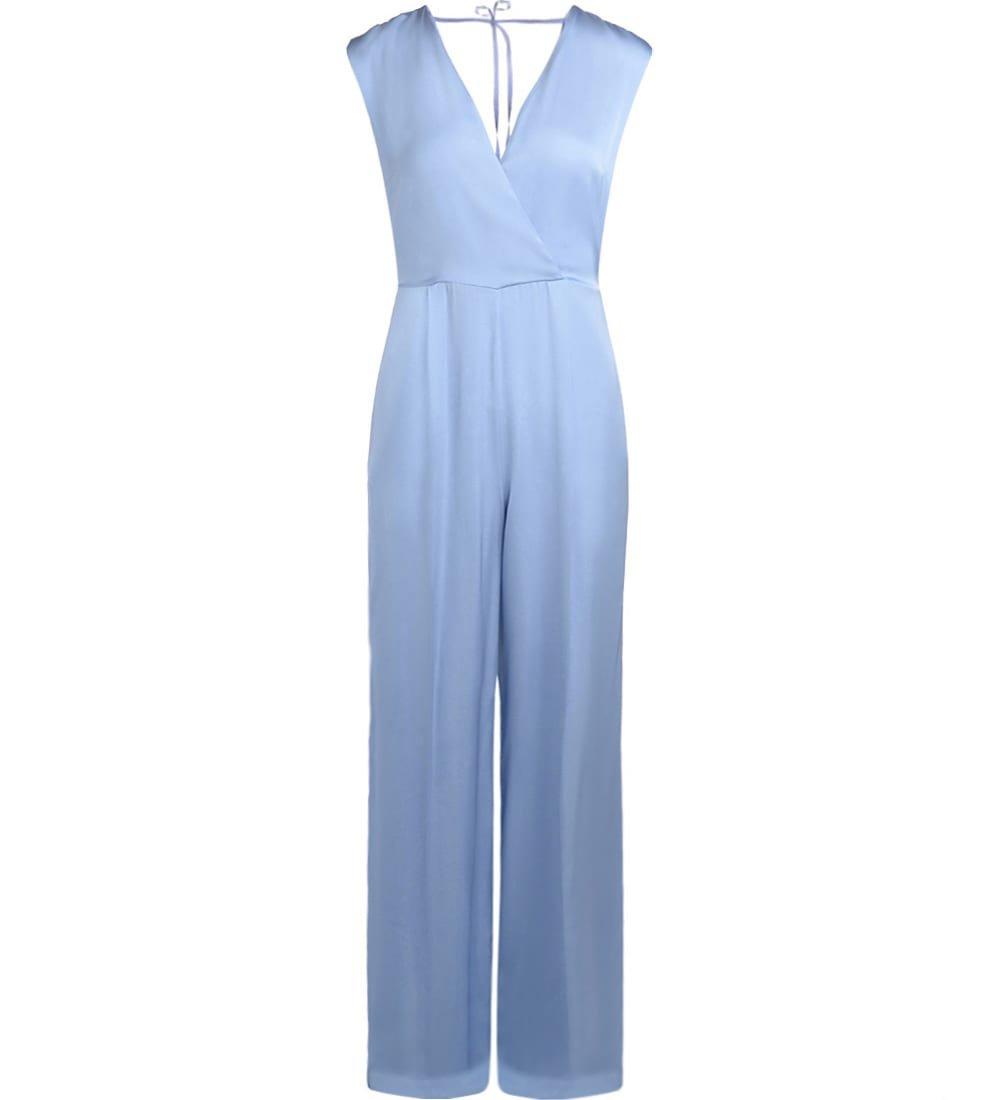 Semicouture Dajana Light-blue Jumpsuit