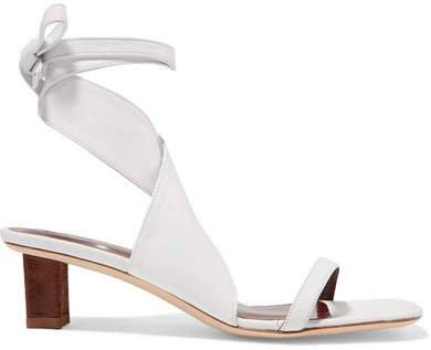 Rui Leather Sandals - White