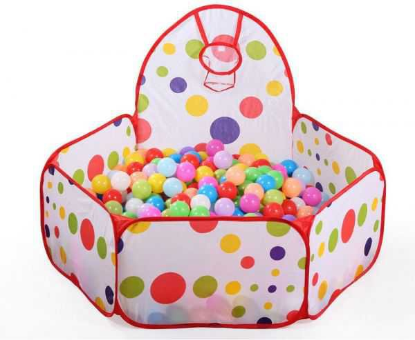 Souq   Foldable Colorful Play Toy Tent Ocean Ball Pit Pool For Kids SZ1004   UAE
