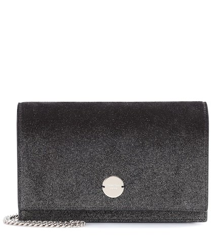 Florence leather clutch