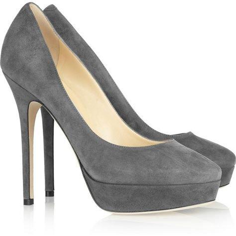 dark grey pumps