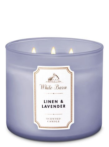 """White Barn Candle """"Lavender and Linen"""""""
