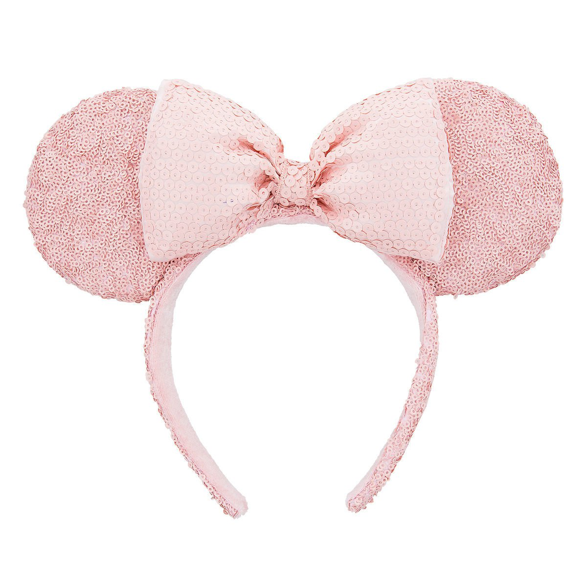 Minnie Mouse Sequined Ear Headband - Pink