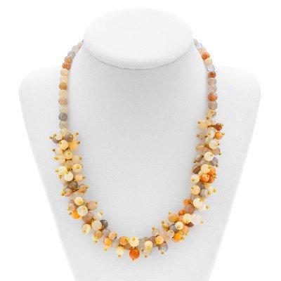 Rainbow Moonstone Necklace | Mystic Self LLC