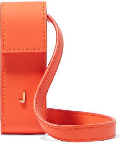 Le Porte Leather Pouch - Orange